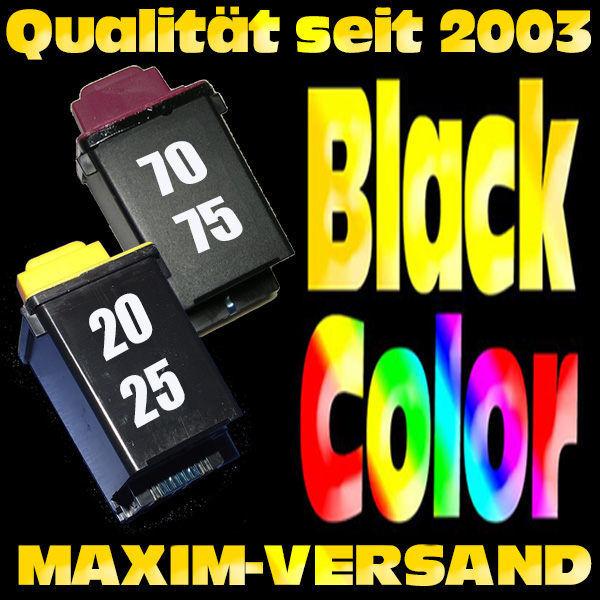 Lexmark 70 + Lexmark 20 kompatibel
