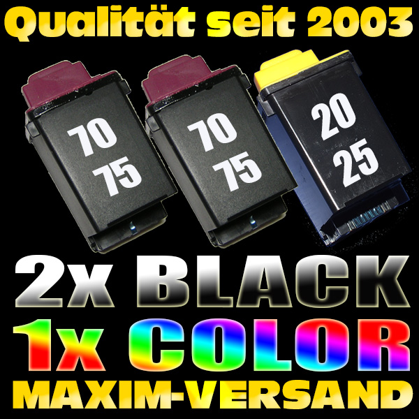 Lexmark 70 x 2 + Lexmark 20 kompatibel