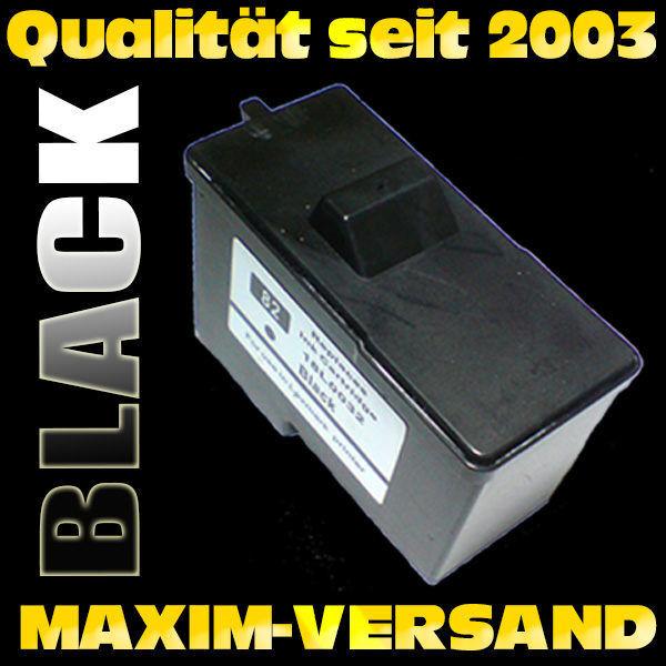 Lexmark 82 - recycelt - schwarz / black