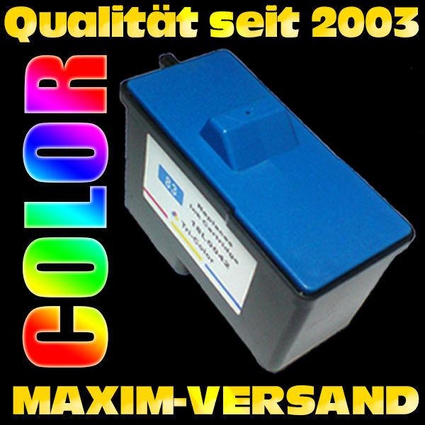 Lexmark 83 - recycelt - 3-farbig / color
