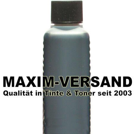 Tinte & Zubehör: Tinte black / schwarz universal - 100 ml