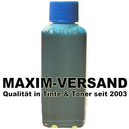 Tinte & Zubehör: Universal Nachfülltinte - blau / cyan - 100 ml