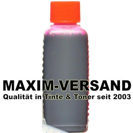 Tinte & Zubehör: Tinte rot / magenta - universal - 100 ml