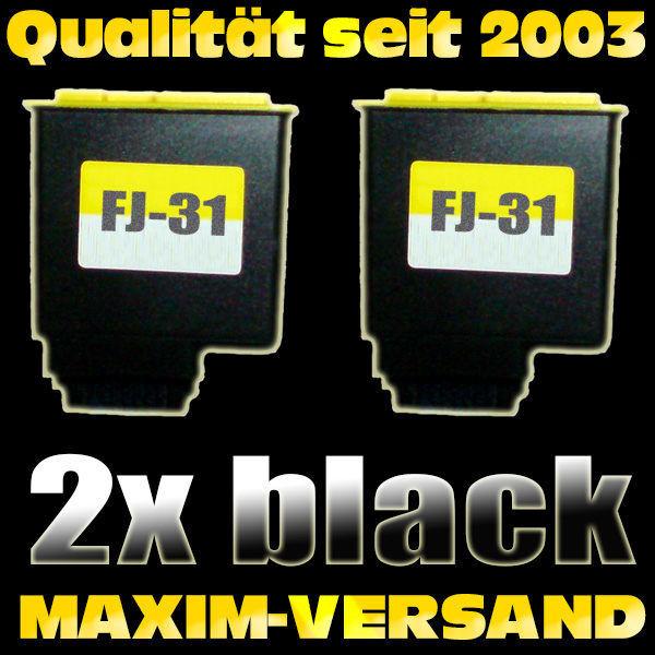 Olivetti FJ-31 schwarz / black- kompatibel x 2