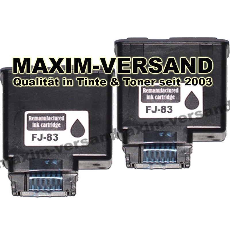 Olivetti FJ-83 schwarz / black - kompatibel x 2