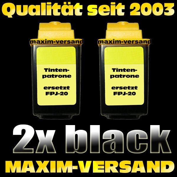 Olivetti FPJ-20 schwarz / black - kompatibel x 2