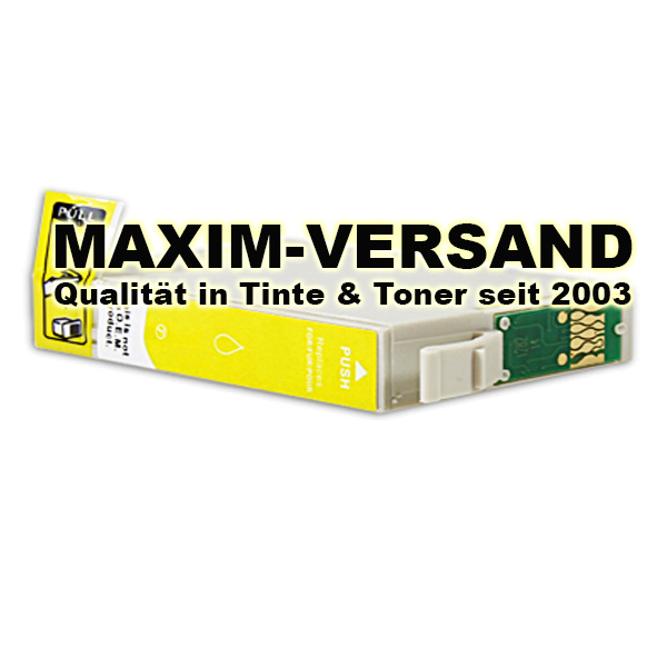 Reinigungspatrone für Epson T1634 - gelb / yellow