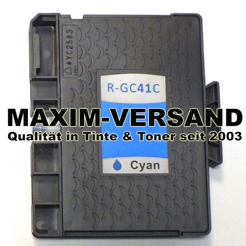 Ricoh GC-41C - kompatibel - blau / cyan - mit Chip