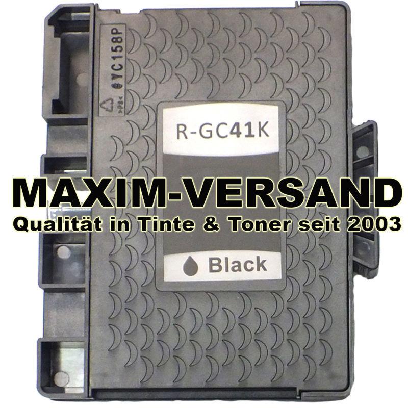 Ricoh GC-41K - kompatibel - schwarz / black