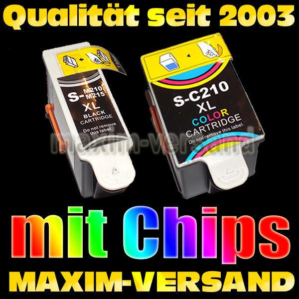 Multipack für Samsung INK-M210/215 + INK-C210- kompatibel (2er Set)