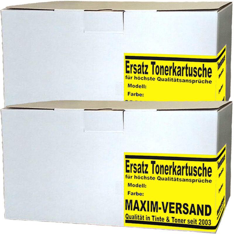 2 x Toner Ersatz für TN-245Y / TN-246Y - gelb / yellow