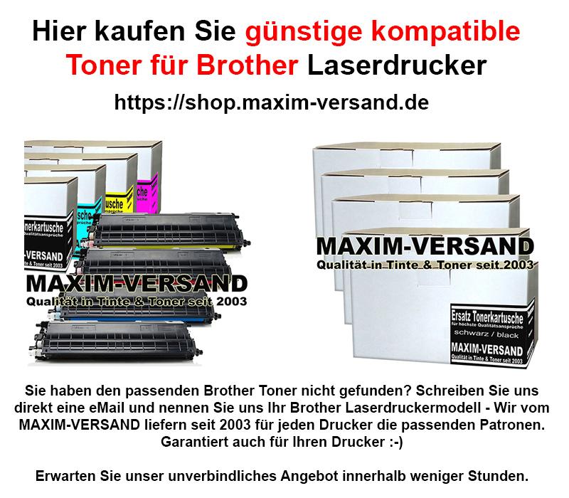 kompatible Brother Tonerkartuschen kaufen